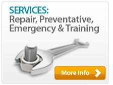 Services: Repair, Preventative, Emergency & Training